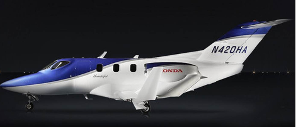 Large hondajet side main