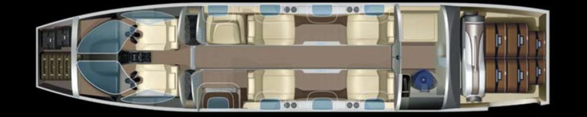 Large honda jet top